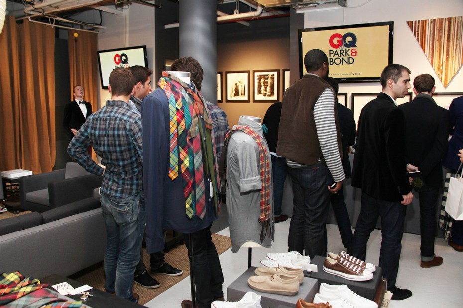 Image of GQ x Park & Bond Pop-Up Shop