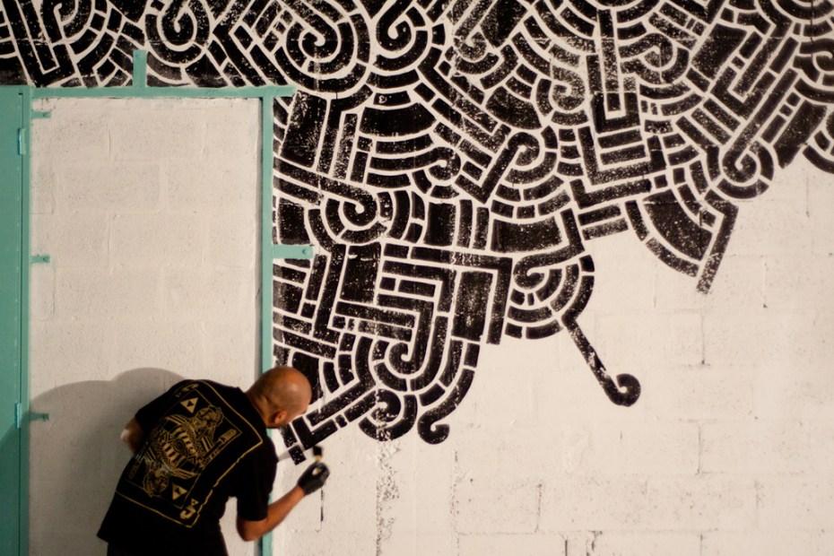 "Image of Graffuturism ""In situ"" Mural Installations @ Art Basel Miami 2011 Recap"