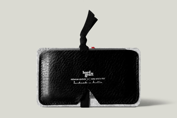 Image of hard graft Card Case / Nero