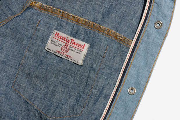 Image of Harris Tweed x Levi's 2011 Custom Capsule Collection