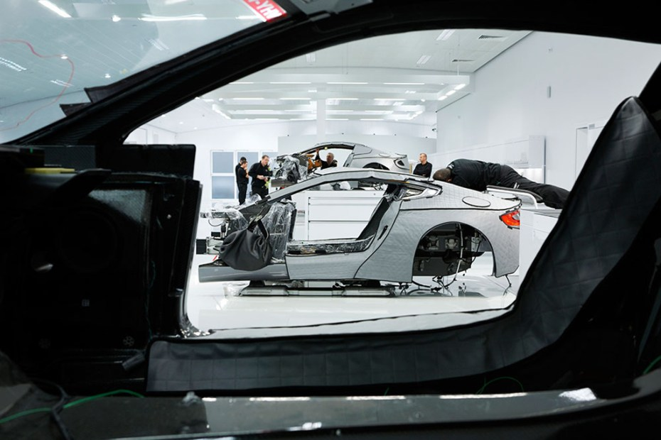Image of How Aston Martin Builds the Gorgeous One-77 Supercar