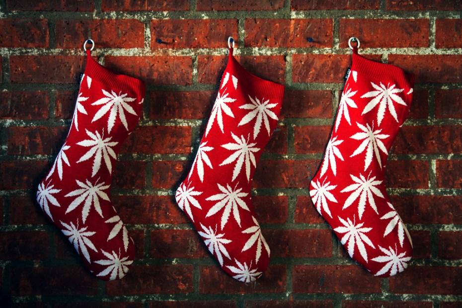 Image of HUF 2011 Holiday Plantlife Christmas Stocking