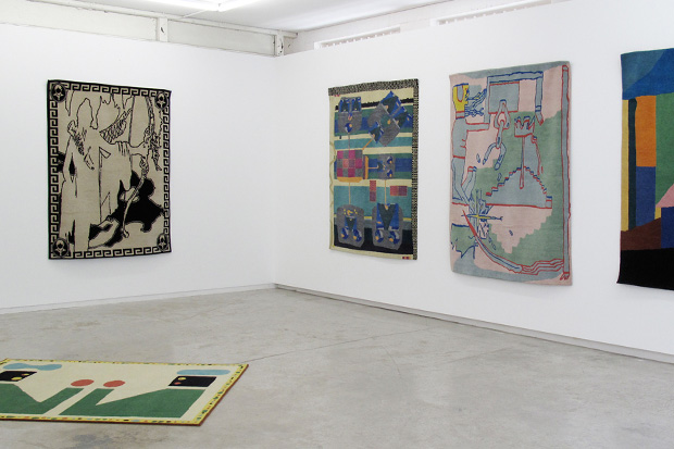"Image of ""In the Gardens"" Exhibition @ Utopian Slumps Curated by Misha Hollenbach"