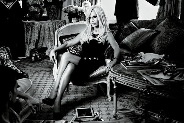 Image of Interview Magazine: Nicki Minaj Interviews Donatella Versace