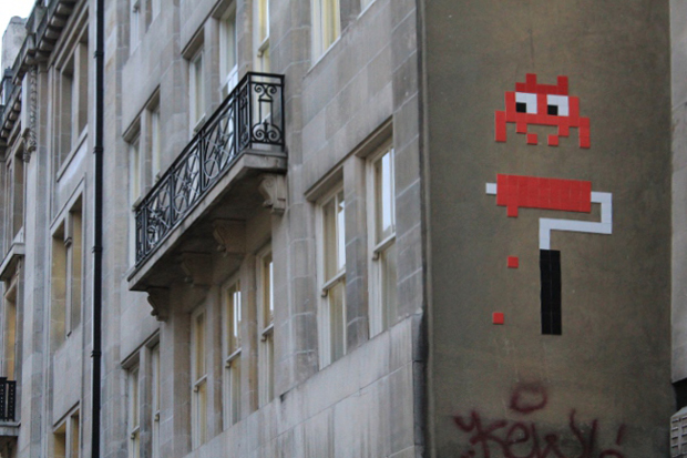 Image of Invader in London