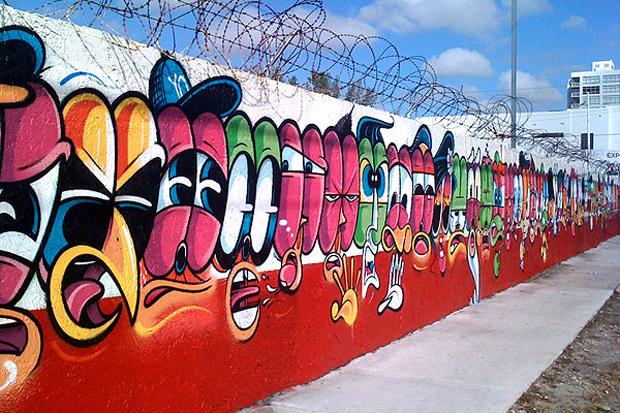 Image of Jersey Joe @ Art Basel Miami 2011