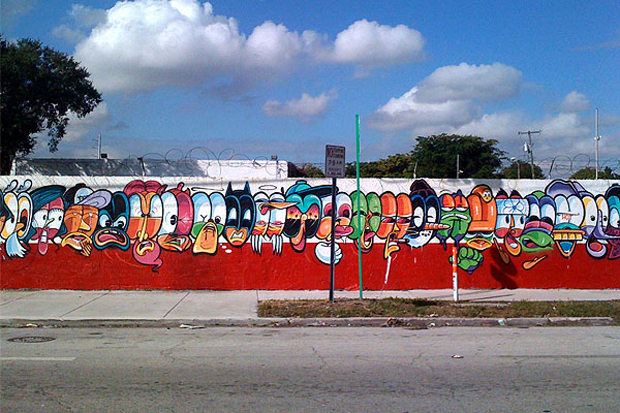 Image of Jersey Joe @ Art Basel Miami 2011
