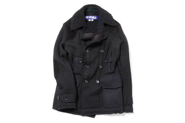 Image of Junya Watanabe COMME des GARCONS MAN Wool Alpaca Coat