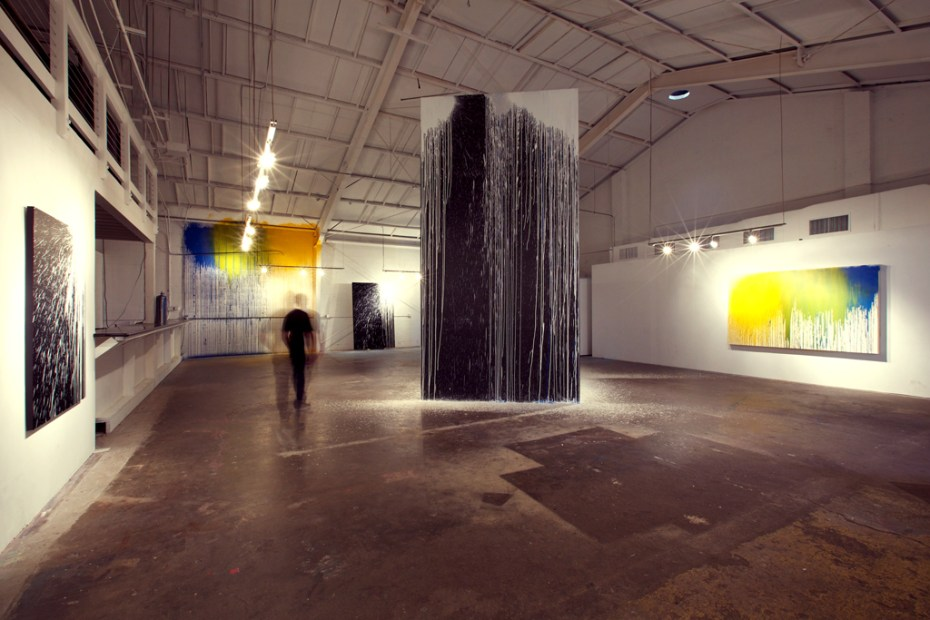 "Image of Krink ""Site-Specific Painting and Sculpture"" Exhibition @ Loft in Space Recap"