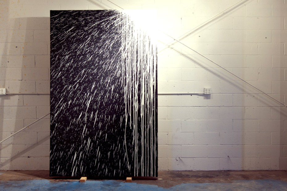 """Image of Krink """"Site-Specific Painting and Sculpture"""" Exhibition @ Loft in Space Recap"""