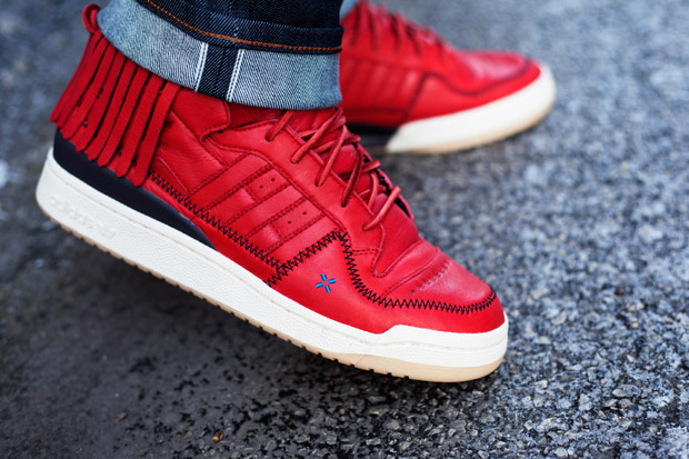 Image of Leaders 1354 x adidas Originals Forum Moccasin Mid