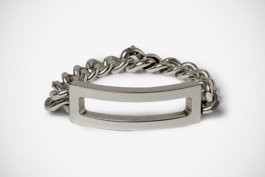 Image of Maison Martin Margiela Brass ID Bracelet