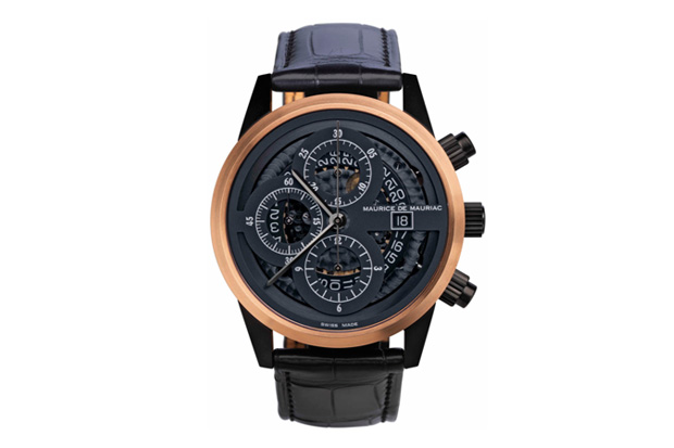 Image of Maurice de Mauriac Skeleton Chronograph