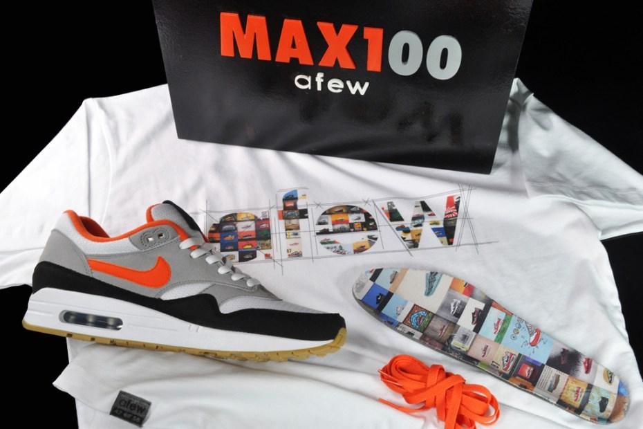 Image of MAX100 x Afew x Nike Air Max 1 Pack