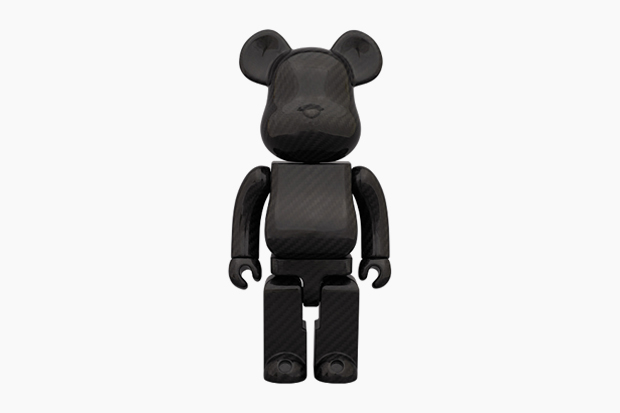 Image of Medicom Toy Bearbrick 400% &quot;DRY CARBON&quot;