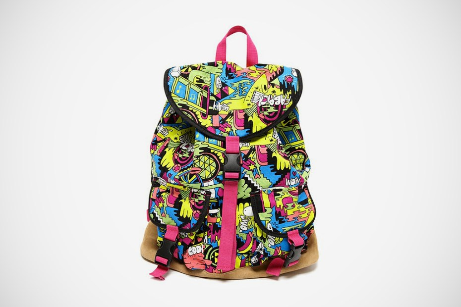 Image of Mike Perry x Medicom Toy Life Entertainment Backpack