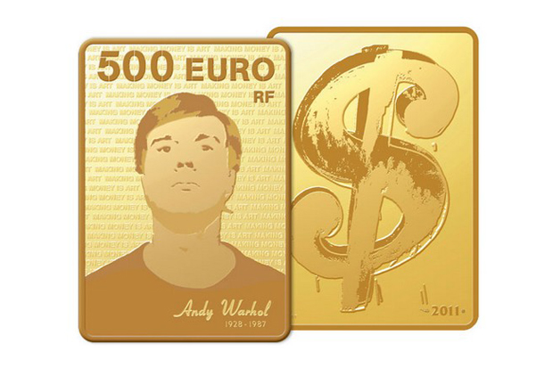 "Image of Monnaie de Paris x Andy Warhol ""Making Money Is Art"" Collection"