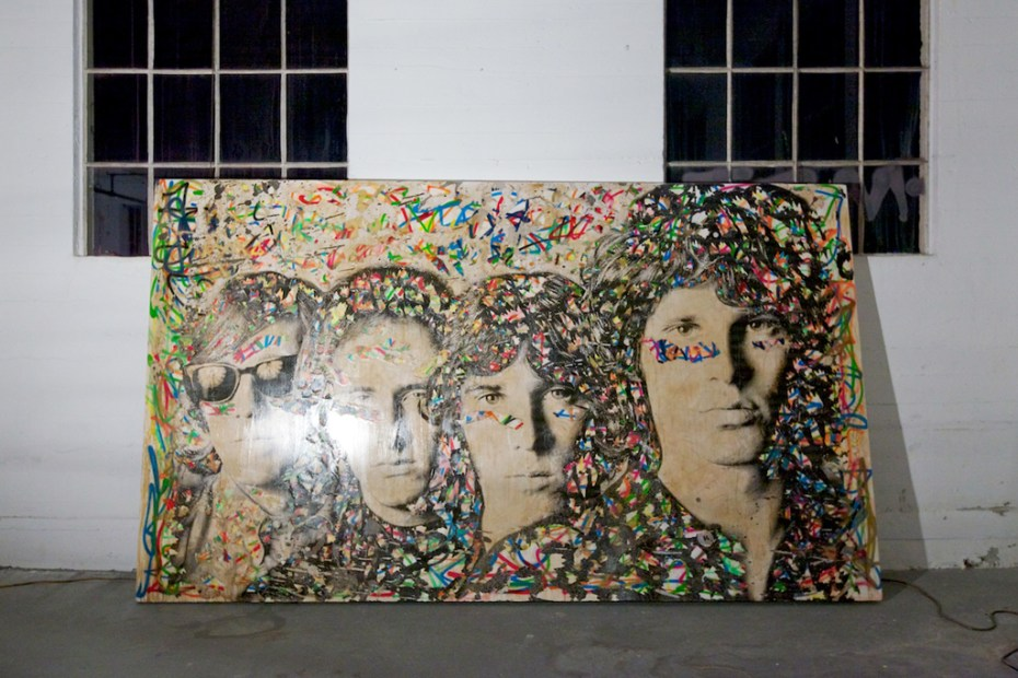 Image of Mr. Brainwash 2011 Art Show Recap
