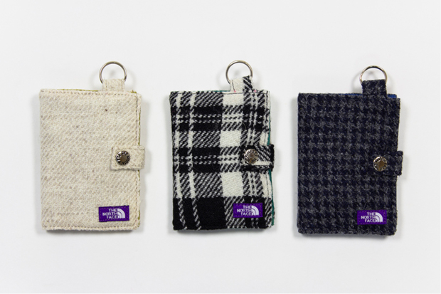 Image of nanamica x THE NORTH FACE PURPLE LABEL Harris Tweed Wallet