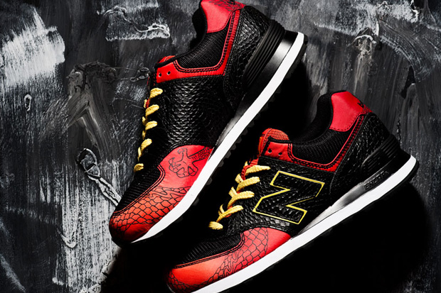 "Image of New Balance 574 ""Dragon"" Pack"