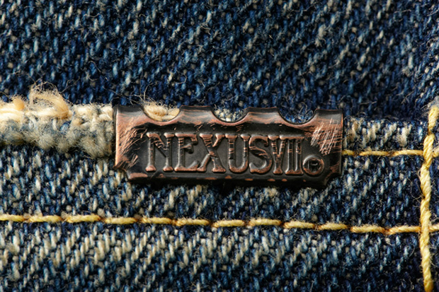 "Image of NEXUSVII Repaired ""47's"" Denim"
