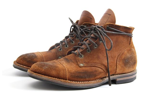 Image of Nigel Cabourn x Viberg 2012 Service Boot