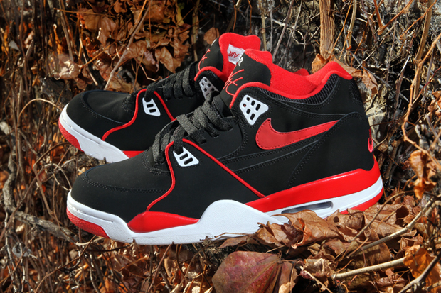 Image of Nike Air Flight '89 Sport Red-White