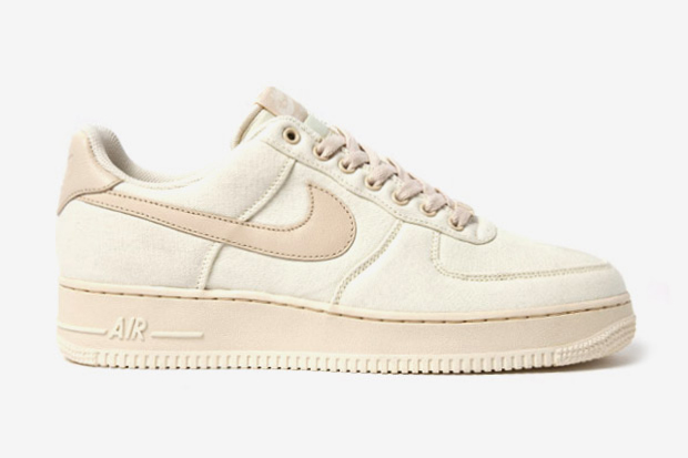 "Image of Nike Air Force 1 Canvas ""Cashmere"""