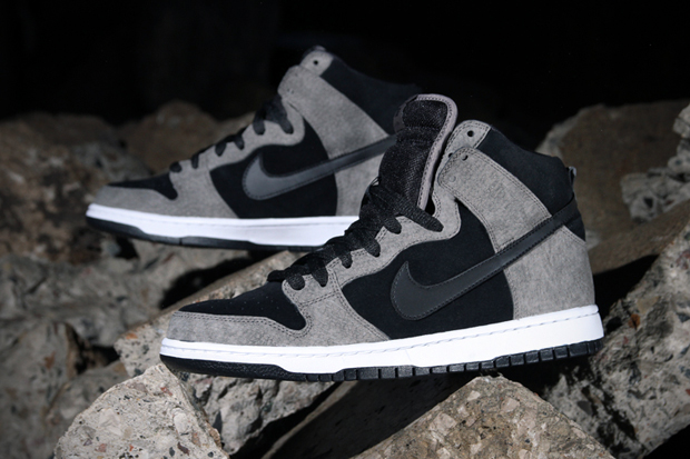 Image of Nike SB Dunk High Pro Clay/Black-White