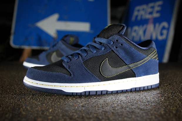 Image of Nike SB Dunk Low Pro Midnight Navy/Black