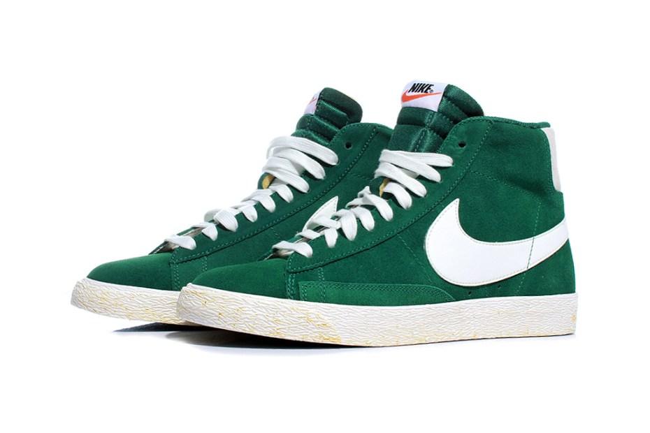 "Image of Nike Sportswear Blazer High ""Gorge Green"""