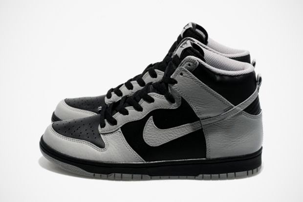 Image of Nike Sportswear Dunk High Black/Medium Grey