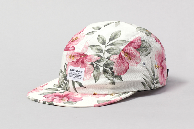 """Image of Norse Projects 2011 Holiday """"Floral""""  5 Panel Cap Collection"""