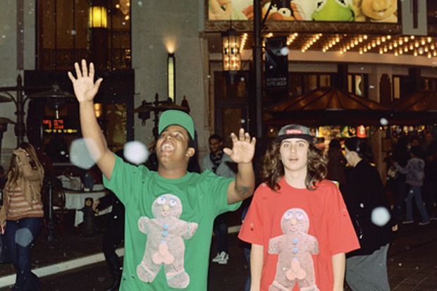 Image of Odd Future x Golf Wang Christmas T-Shirt