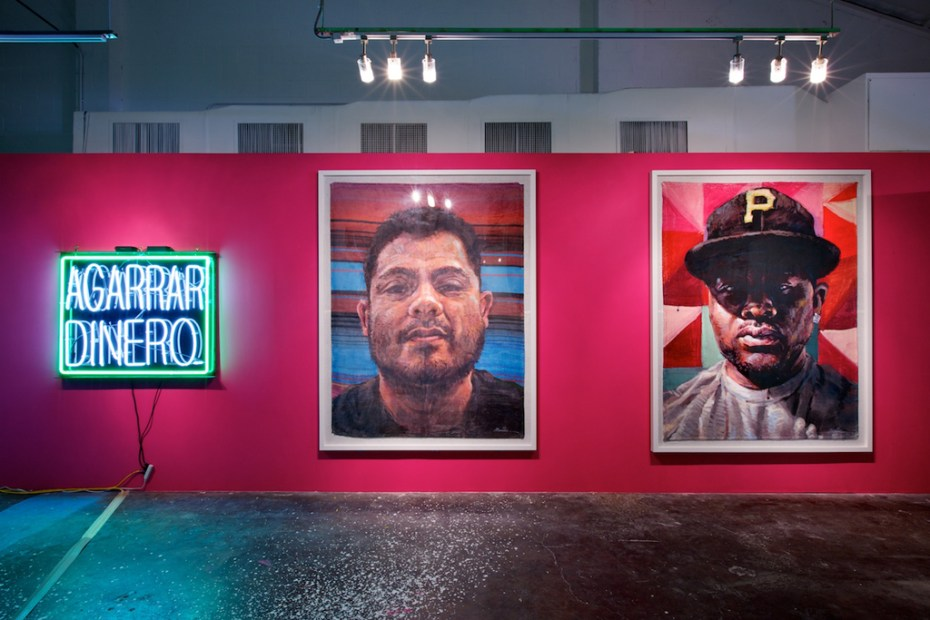 "Image of Patrick Martinez ""Reel Tawlk"" Exhibition @ Loft in Space"