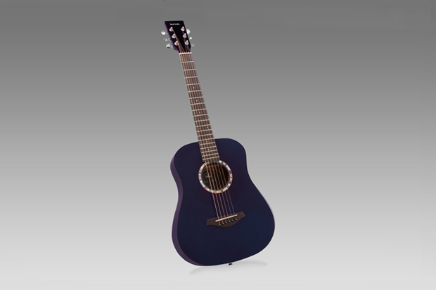 Image of Paul Smith x Vintage Guitars Purple Travel Acoustic Guitar