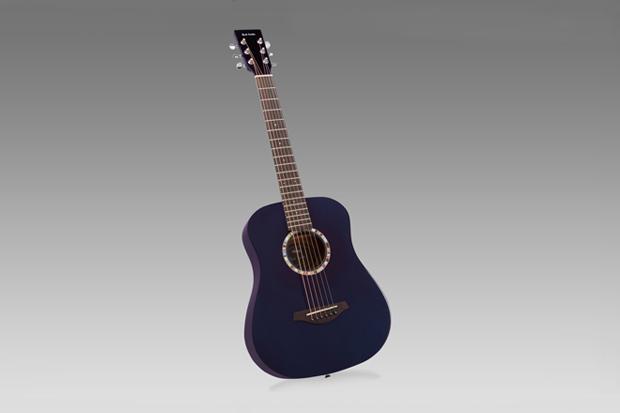 Image of Paul Smith x Vintage Guitars Purple Travel Acoustic Guitar