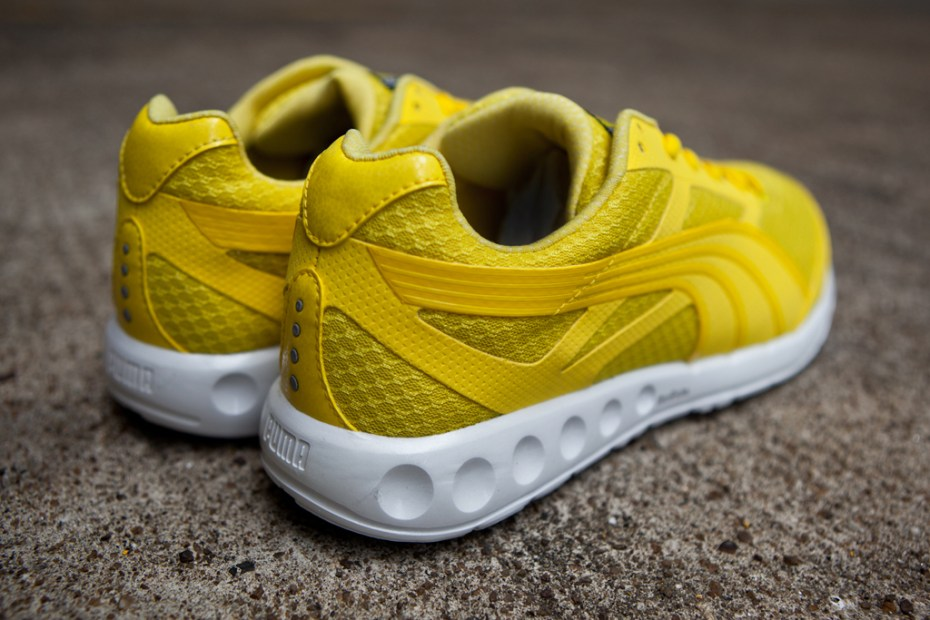 Image of PUMA Bolt Faas 400 Buttercup/White