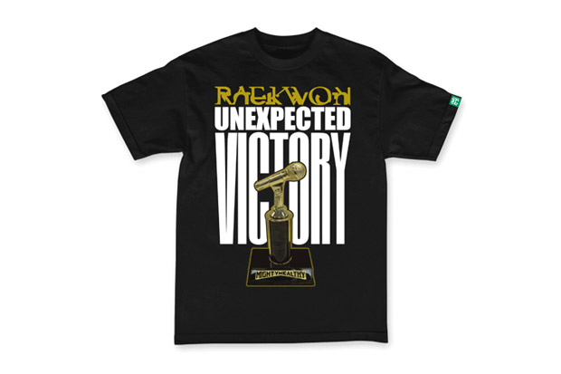 Image of Raekwon x Mighty Healthy &quot;Unexpected Victory&quot; T-Shirt
