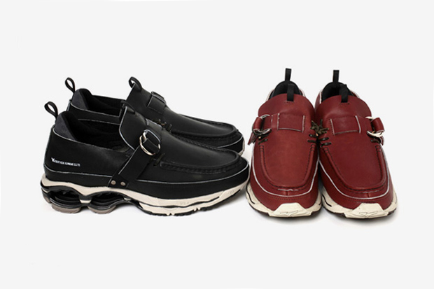 Image of ……. RESEARCH x Mizuno Double Ring Moccasin