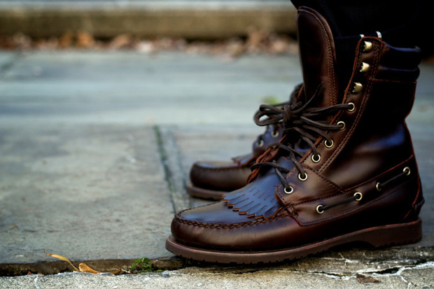 Image of Ronnie Fieg for Sebago Kings Point Boot