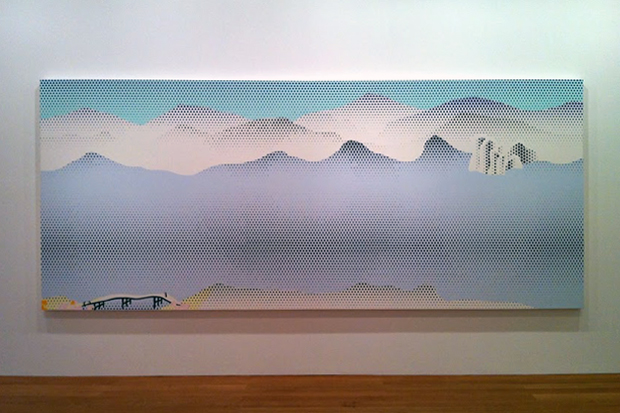 "Image of Roy Lichtenstein ""Landscapes in the Chinese Style"" @ Gagosian Gallery Hong Kong"