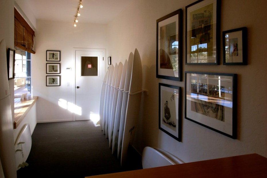 Image of S/Double Surfboard Showroom