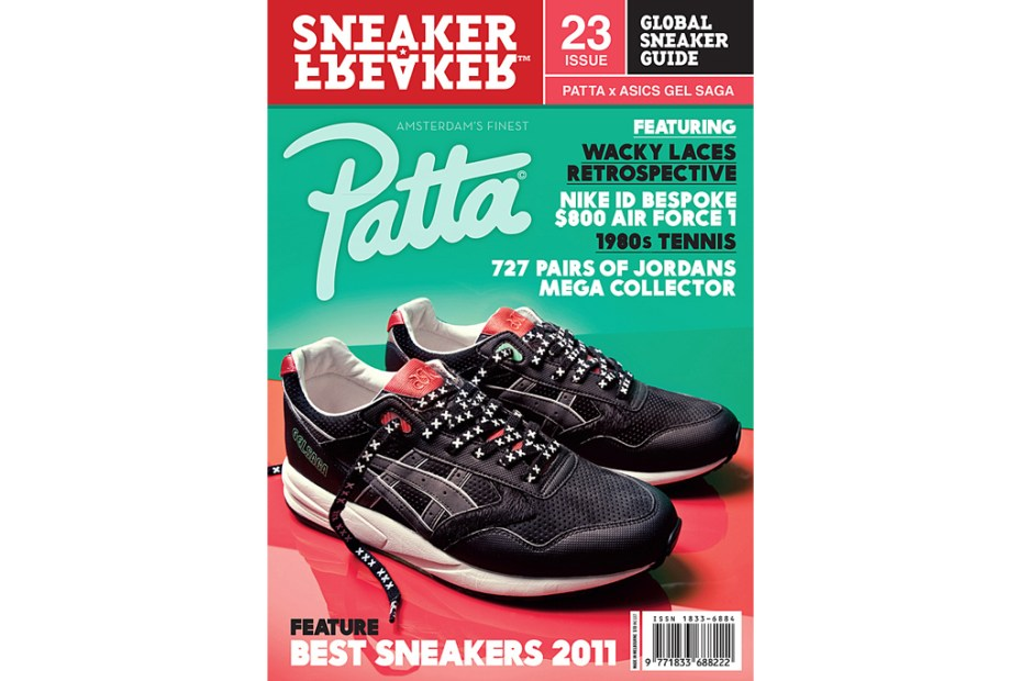 Image of Sneaker Freaker Issue 23 Patta x ASICS Gel Saga Cover