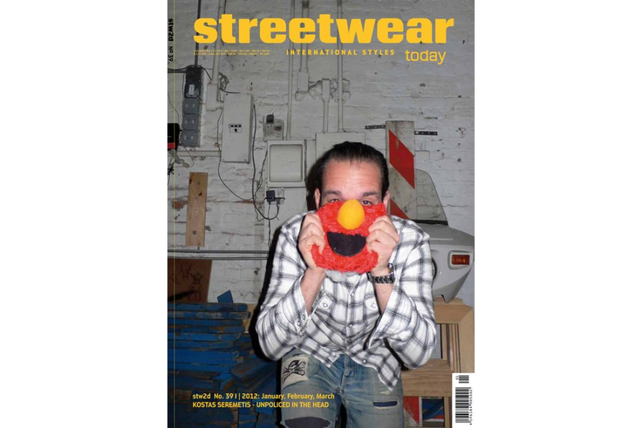 Image of Streetwear Today Issue 39: Kostas Seremetis - Unpoliced in the Head