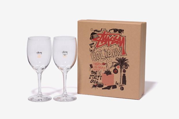 Image of Stussy 2011 Holiday Wine Glass Set