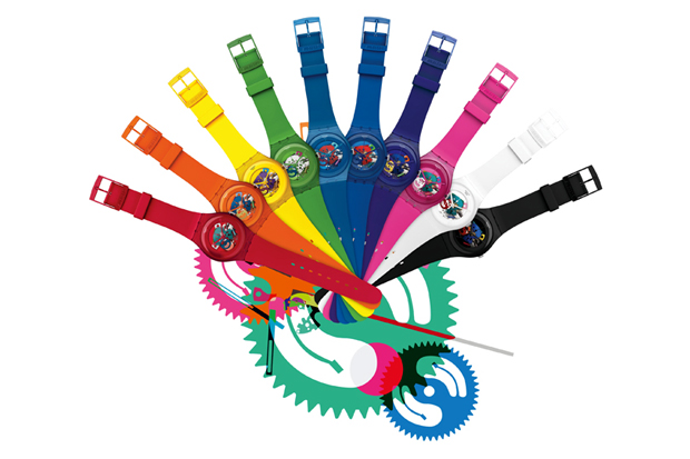 "Image of Swatch 2012 ""New Gent Lacquered"" Collection"