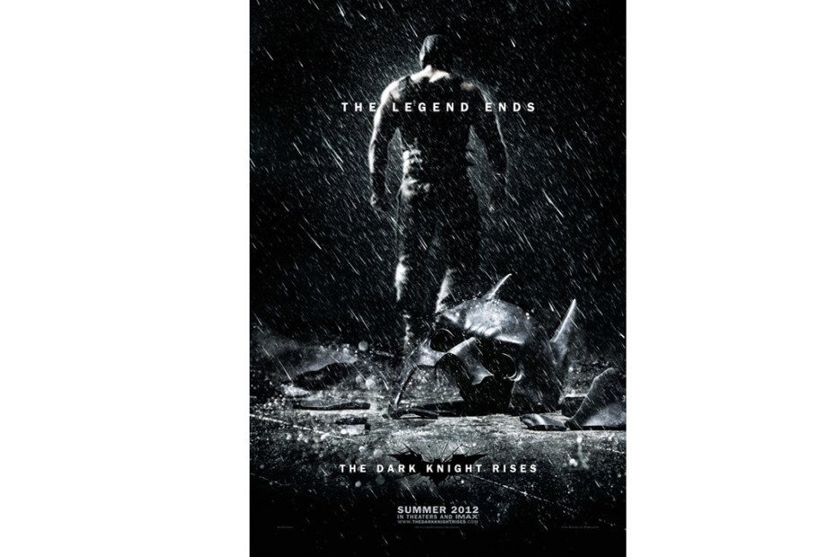 Image of The Dark Knight Rises Second Teaser Poster