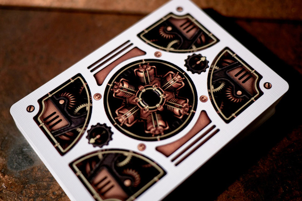 Image of theory11 x Bicycle Steampunk Playing Cards