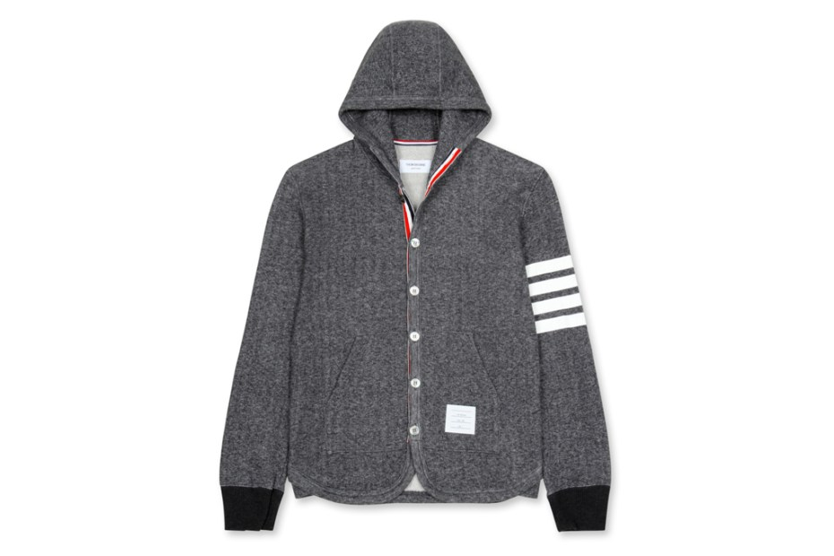 Image of Thom Browne Jersey Parka